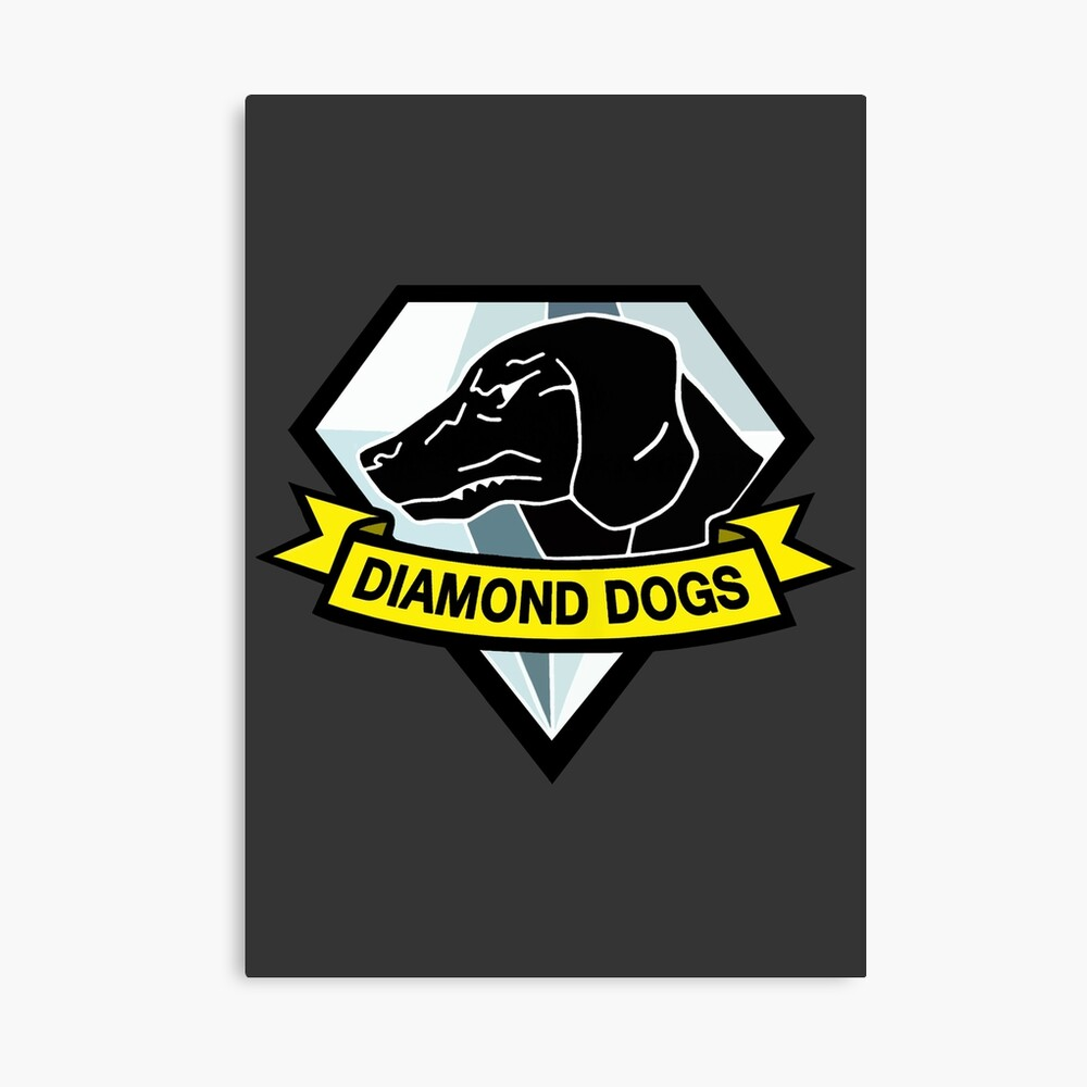 Diamond Dogs Lienzo