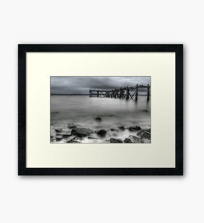 Old Aberdour Pier Framed Print