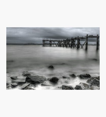 Old Aberdour Pier Photographic Print