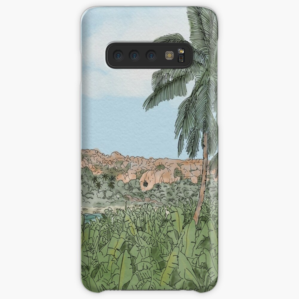 A view of Hampi - India  Case & Skin for Samsung Galaxy