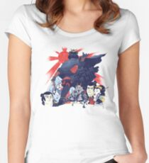 Samurai Wars: Empire Strikes Women's Fitted Scoop T-Shirt