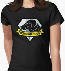 Diamond Dogs Women's Fitted T-Shirt