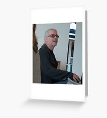 David Walsh , creator and owner of MONA (Museum of Old and New Art) Greeting Card
