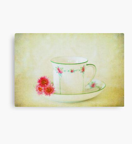 Tea For One.....? Canvas Print