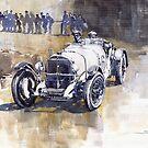 Retro racing Mercedes Benz by Yuriy Shevchuk