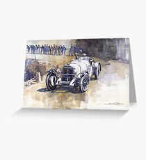 Mercedes Benz SSK 1930 Rudolf Caracciola Greeting Card