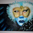 Feathered Mask by Gunes Yilmaz