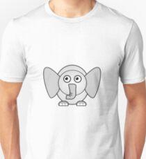 Little Cute Elephant Unisex T-Shirt