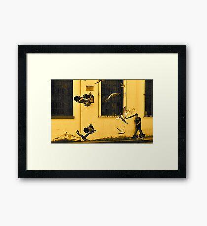 Street Gang in Flight Framed Print