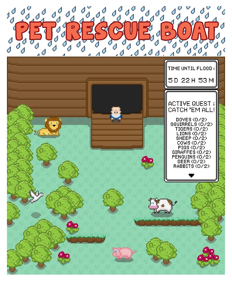 Pet Rescue Boat! by timsim