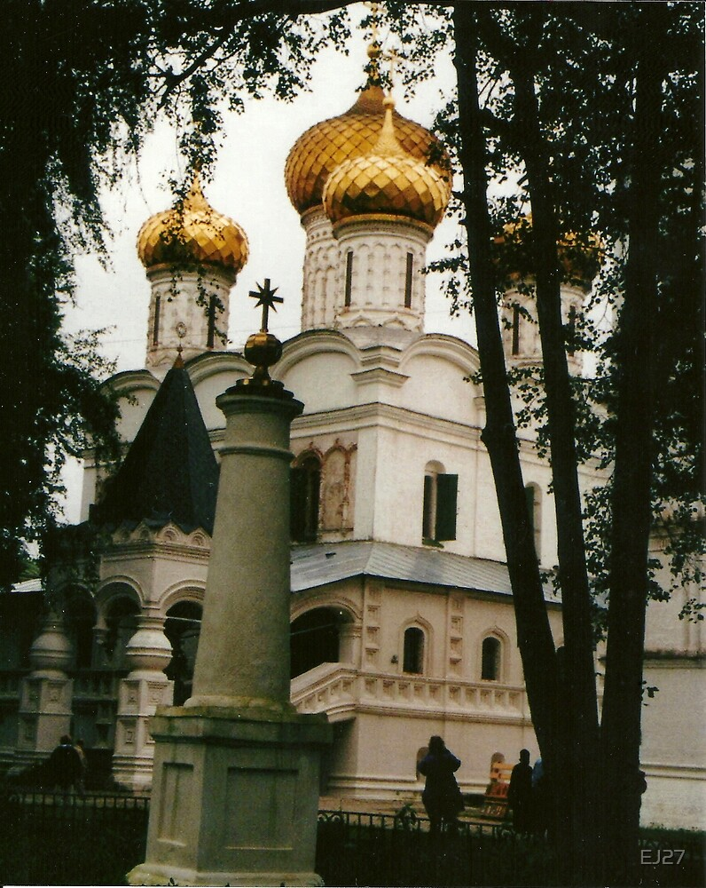 St. Catherine in Moscow,  at the Kremlin by EJ27