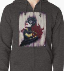 Bat girl Zipped Hoodie