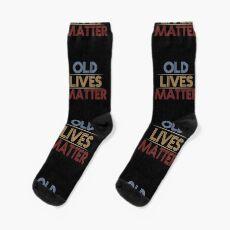 Old Lives Matter Socks