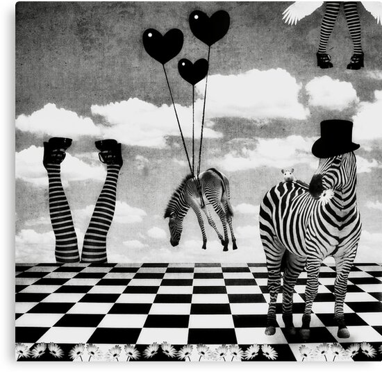 It's Not All Black & White... by Carol Knudsen