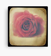 Love through the viewfinder Canvas Print