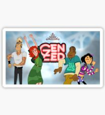 Gen Zed Dancers Sticker