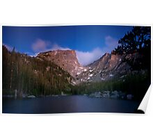 Sunrise at Dream Lake Poster
