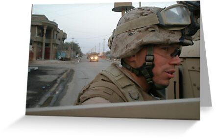 Marines in Fallujah  by Jesse  B.
