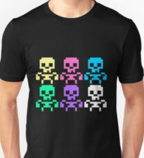 Rainbow skeletons Slim Fit T-Shirt