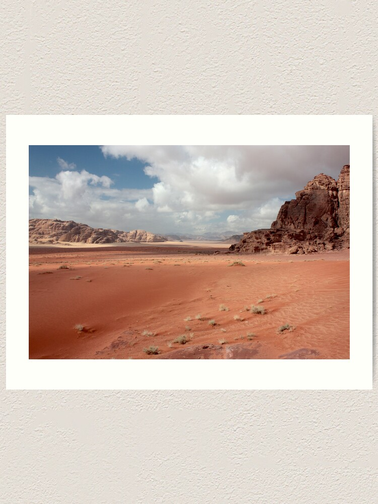 Alternate view of sand painting Art Print