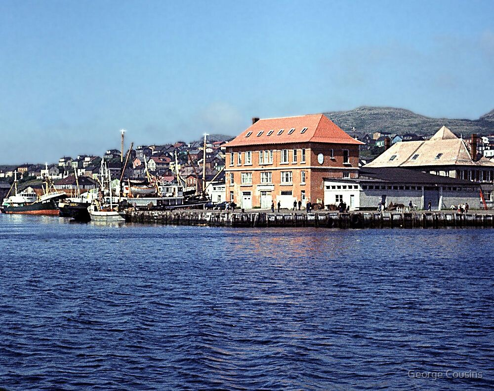 St. Pierre Harbour (1) by George Cousins