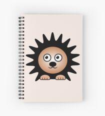 Little Cute Hedgehog Spiral Notebook