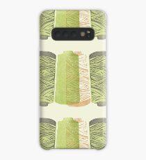 Green Spools of Thread Case/Skin for Samsung Galaxy