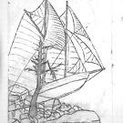 Ghost Ship by Langenbear