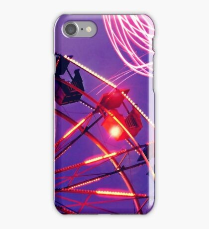 Evening at the fair iPhone Case/Skin