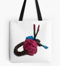 JUMPING COLORS - blue and purple on a ring -  Tote Bag