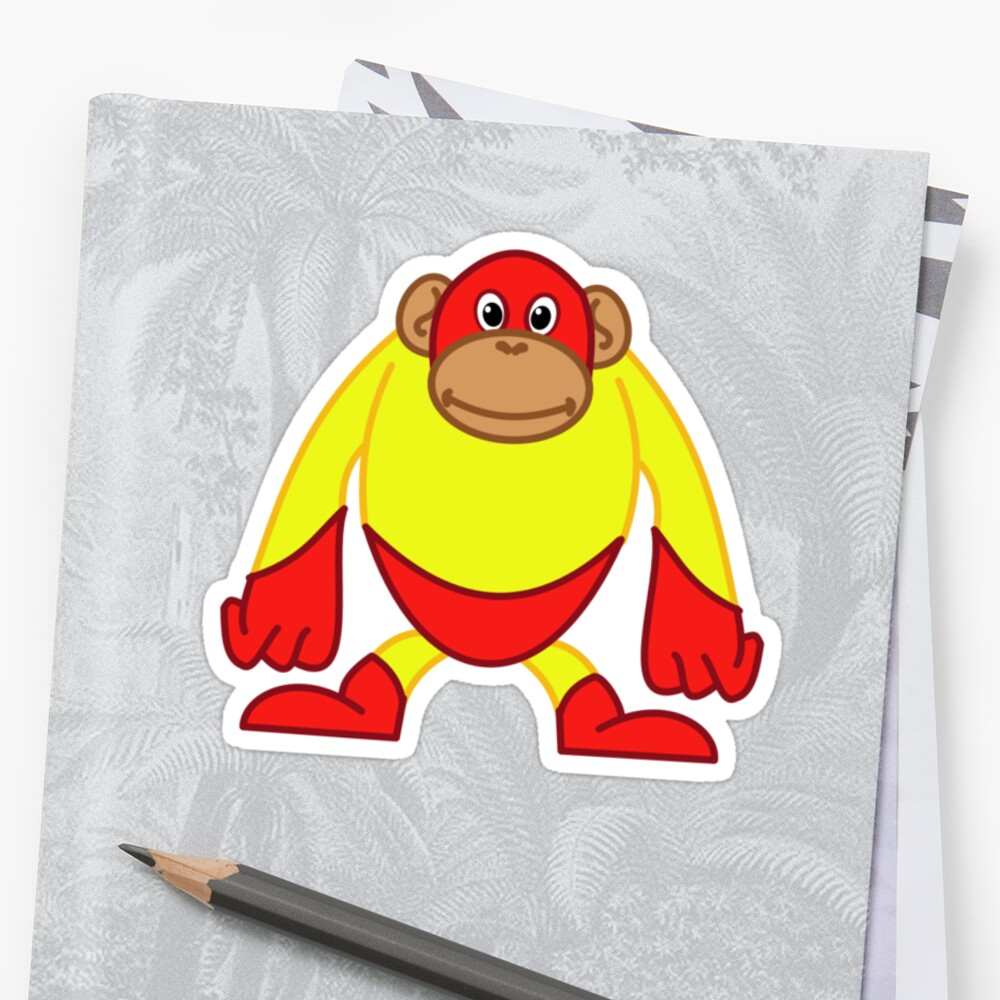 Mighty Monkey by SpikeysStudio