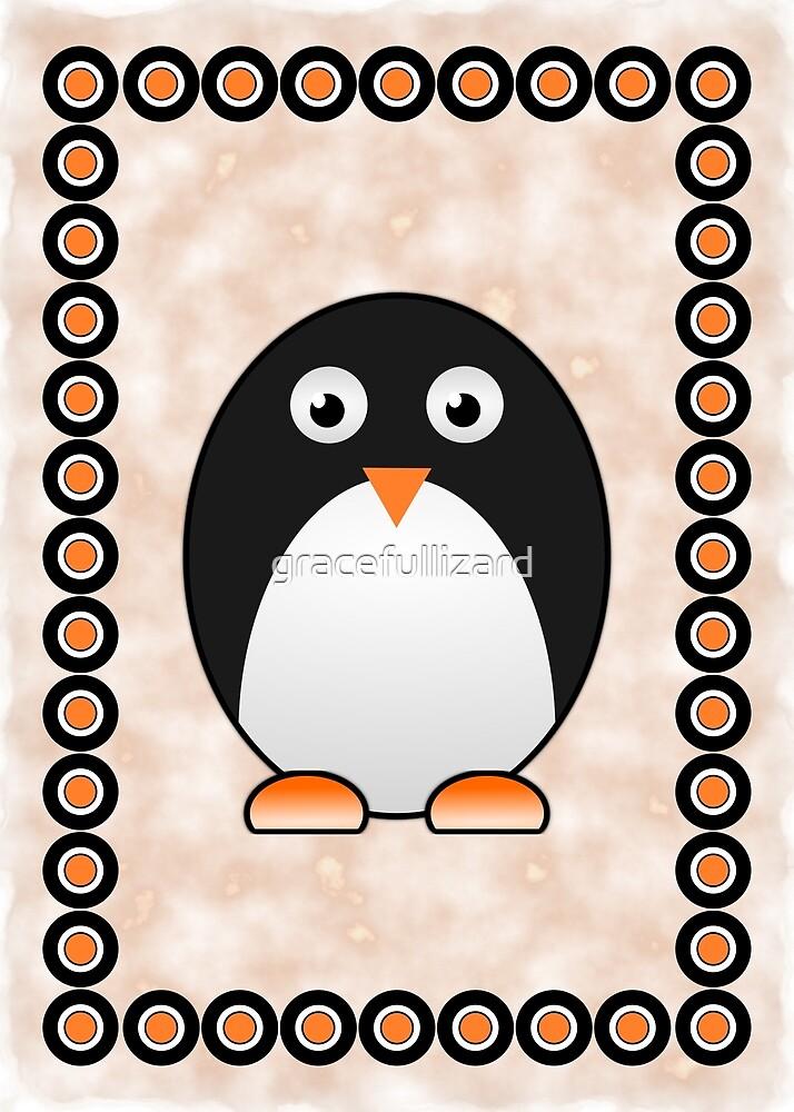Little Cute Penguin by Anastasiya Malakhova