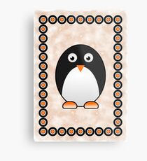 Little Cute Penguin Metal Print