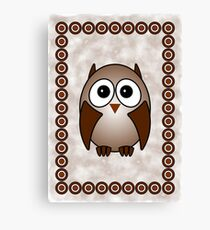 Little Cute Owl Canvas Print