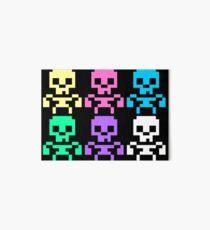 Rainbow skeletons Art Board Print