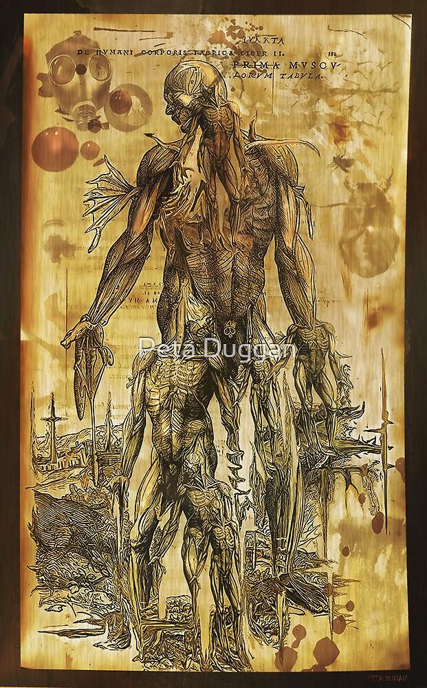 """Future anatomy alien twisted doodle interpretation"" by Peta Duggan"