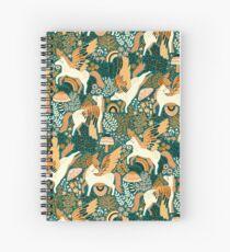 Pegasus Paradise  Spiral Notebook
