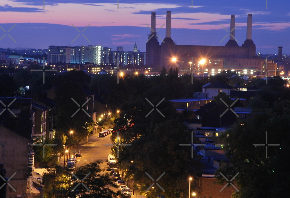Battersea Power Station ( View from Stockwell ) by Alessandro Pinto
