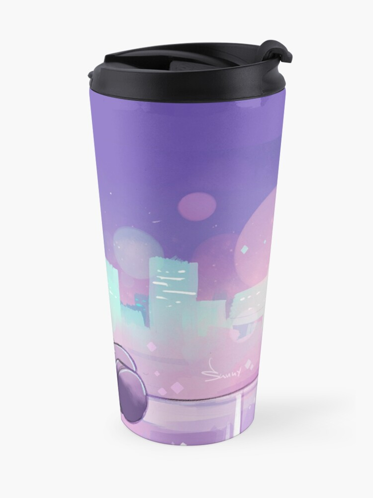 Alternate view of It's Over Isn't It Travel Mug