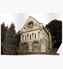 St Nicholas Church, Barfreston  Poster