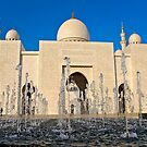 Sheikh Zayed Grand Mosque by Viktoryia Vinnikava