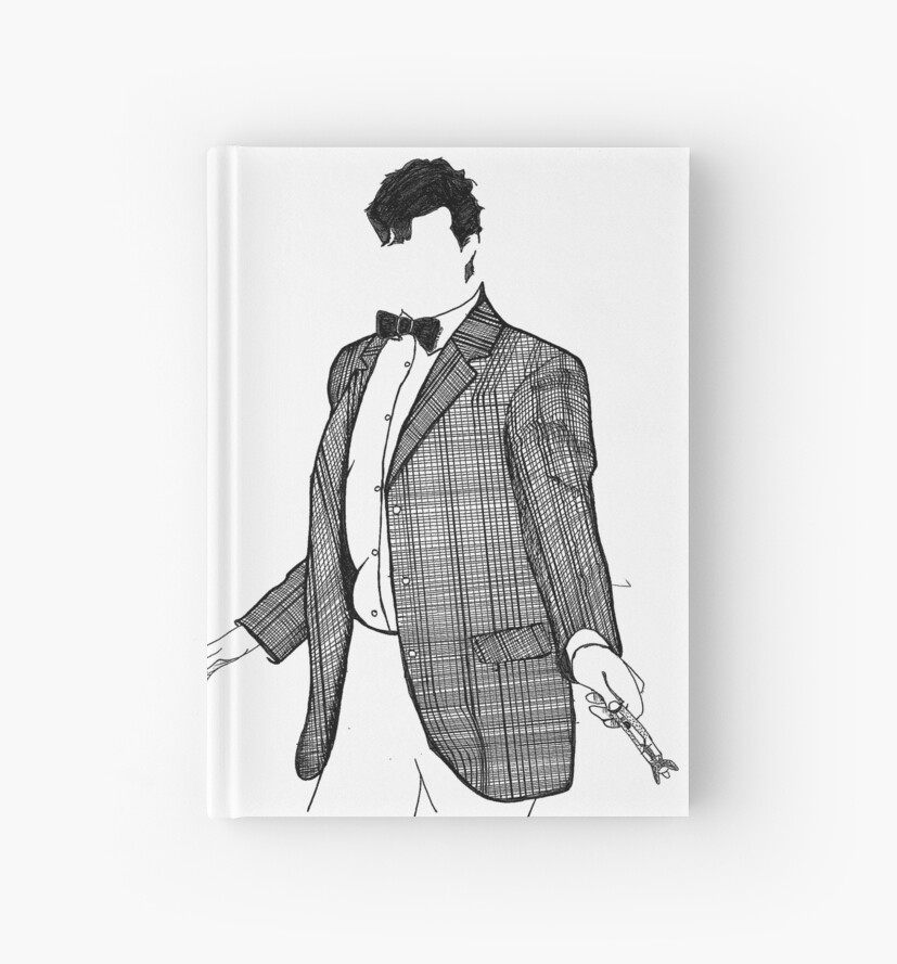 11th Doctor pen&ink by spennisi