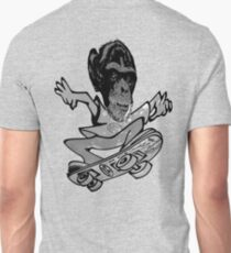 skater monkey man by ian rogers Unisex T-Shirt