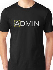 Person of Interest - Admin Unisex T-Shirt