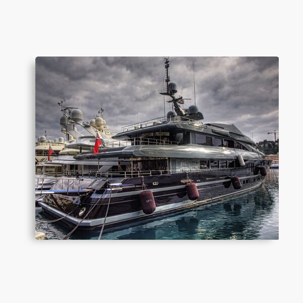 Big Boy's Toys - Monaco Canvas Print
