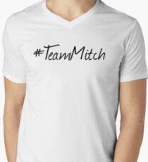 #TeamMitch Mens V-Neck T-Shirt