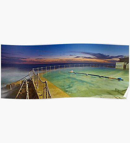 Sunrise Swim Poster