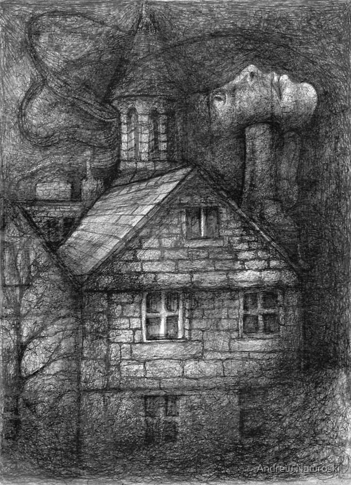 Little House in the Woods. by Andrew Nawroski
