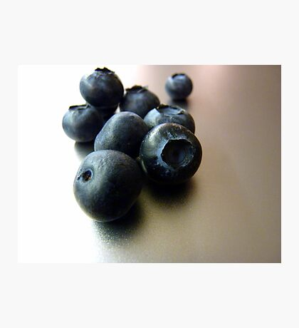 More blueberries Photographic Print
