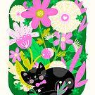 Kitty Garden by noondaydesign